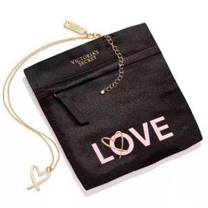 Victoria's Secret Love Gold Necklace